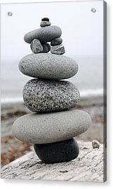 Stack Acrylic Print by George Crawford