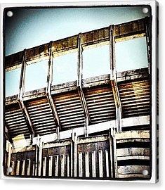 Stadium Acrylic Print by Natasha Marco