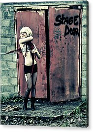 Stage Door Acrylic Print