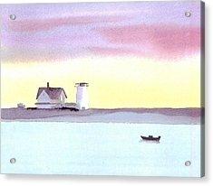 Stage Harbor Acrylic Print by Joseph Gallant