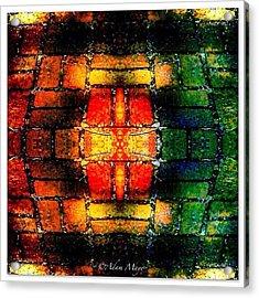 Stained Brick - Ravine Gardens State Acrylic Print