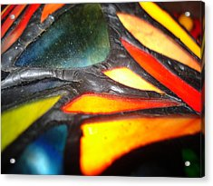 Stained Glass One Acrylic Print