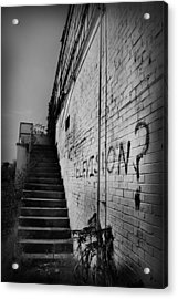 Acrylic Print featuring the photograph Staircase I by Kelly Hazel