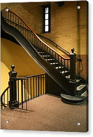 Staircase In The Boston Armory Acrylic Print