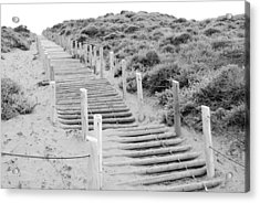 Stairs At Baker Beach Acrylic Print