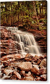 Stairs Falls Acrylic Print by Heather Applegate
