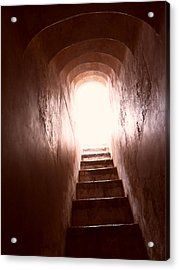 Stairs Acrylic Print by Gonca Yengin