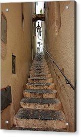 Stairs Italian Acrylic Print by Ryszard Unton