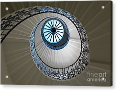 Acrylic Print featuring the photograph Stairs by Milena Boeva