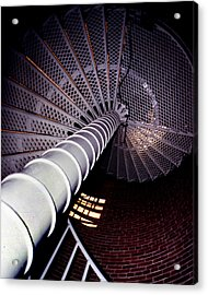 Stairs To The Light Acrylic Print by Skip Willits