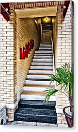 Stairway Acrylic Print by Christopher Holmes
