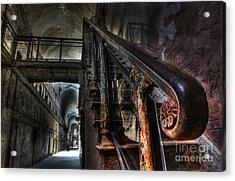 Stairway Of Terror - Eastern State Penitentiary Acrylic Print by Lee Dos Santos