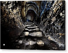 Stairway To Light Acrylic Print by Denis Taraskin