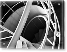 Stairway To Nowhere Acrylic Print by Kevin Lilly