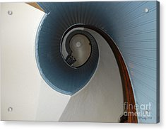 Stairway To The Past Acrylic Print by Susan Stevens Crosby