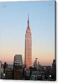 Standing Alone Acrylic Print by Jeff Mueller