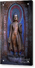 Standing Buddha - Nepal Acrylic Print by Craig Lovell