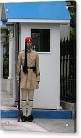 Standing Guard Acrylic Print