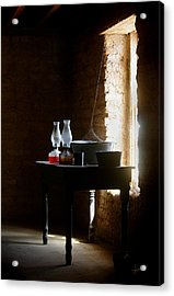 Acrylic Print featuring the photograph Standing In The Shadow Of Time by Vicki Pelham