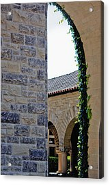 Stanford Memorial Court Arch Acrylic Print