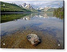 Stanley Lake Acrylic Print by Elijah Weber
