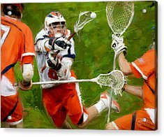 Stanwick Lacrosse 2 Acrylic Print by Scott Melby