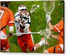 Stanwick Lacrosse 2 Acrylic Print
