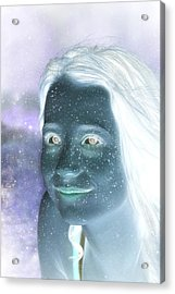 Star Freckles Acrylic Print by Nikki Marie Smith