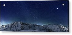 Star Panorama Acrylic Print by RICOWde