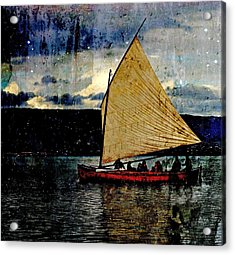 Acrylic Print featuring the photograph Star Ship by Michele Cornelius