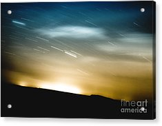 Star Trails Acrylic Print by Roth Ritter