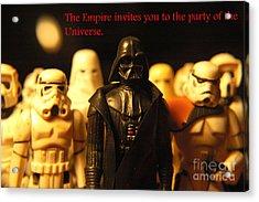 Star Wars Gang 5 Acrylic Print by Micah May