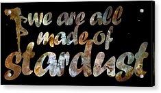 Stardust Acrylic Print by Nikki Marie Smith