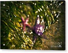 Starfish Swirl Acrylic Print by Venetta Archer