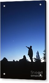 Stargazing Acrylic Print by Science Source