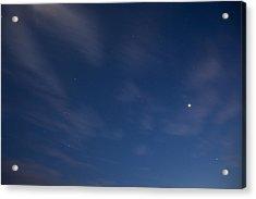 Starry Night Acrylic Print by Ian Middleton