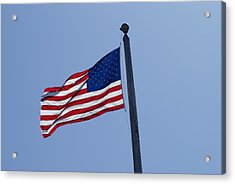 Stars And Stripes Acrylic Print by Jerry Cahill