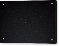 Stars And The Big Dipper On A Clear Acrylic Print by Taylor S. Kennedy