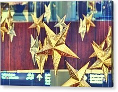 Stars Acrylic Print by Charuhas Images