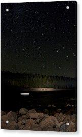 Stars Over Otter Cove Acrylic Print