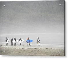 Start Your Day With A Wave Acrylic Print