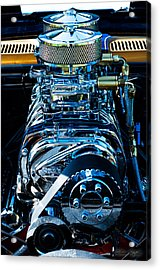 Start Your Engines Acrylic Print by Melissa Wyatt