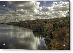 Acrylic Print featuring the photograph Starved Rock Fall Colors by Peter Ciro