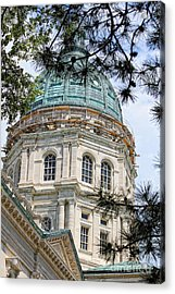 State Capitol Acrylic Print by Billie-Jo Miller