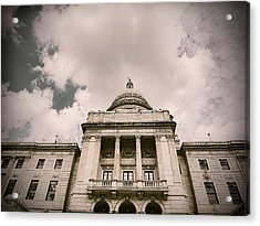 State House Acrylic Print by Lourry Legarde