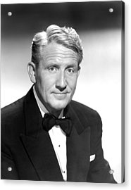 State Of The Union, Spencer Tracy, 1948 Acrylic Print by Everett