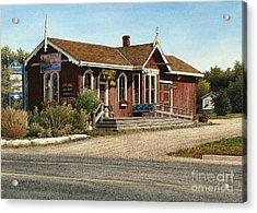 Station Gallery Fenelon Falls Acrylic Print