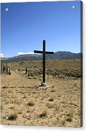 Stations Of The Cross  Acrylic Print