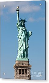 Statue Of Liberty Iv Acrylic Print by Clarence Holmes