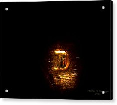 Statue Of Liberty Letter D Mint Mark Photo 8 Acrylic Print by Phillip H George